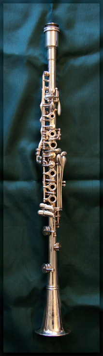 Silva-Bet Silver Clarinet by H. Bettoney