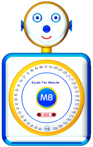 MetronomeBot, the online talking metronome